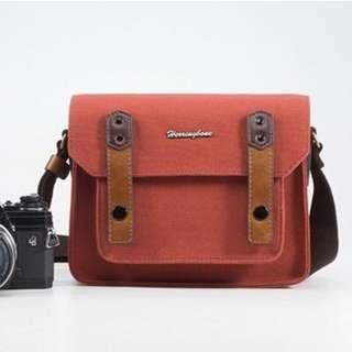 Herringbone Papas Mini Camera Bag