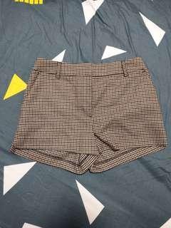 🚚 二手H&M千鳥格短褲