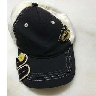 Golf Cap (Black and white)