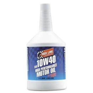CLEARANCE Red Line 10W40 Engine Oil - 1 Quart