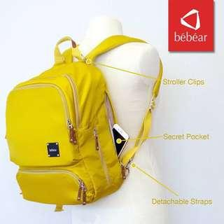 BeBear Diaper Bag Mustard