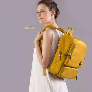 BeBear Diaper Backpack Bag (Mustard)
