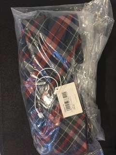 全新initial tie 呔 & 領巾