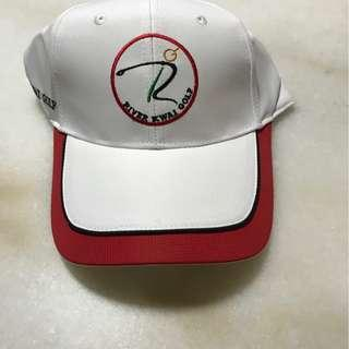 Golf Cap White and Red (Brand New)