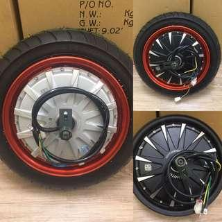 """GET YOUU PARTS"" , New arrival Racing Motor Hub + Racing Tire(1500W)"