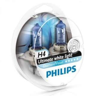 CLEARANCE PHILIPS Diamond Vision H4 (Twin)