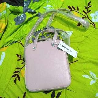 Miniso Dual-use Crossbody Bag Pink