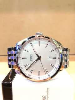 Brand New Oris Artix 01 733 7642 4051 Silver Dial Automatic Steel Casing Bracelet