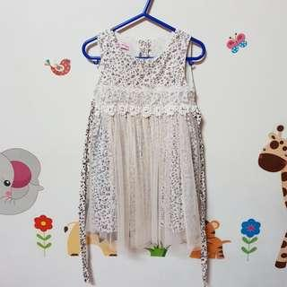 Party dress for 2-3 year old girl or toddler size 100