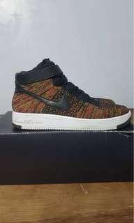 Nike AF1 Flyknit Multicolor Mid Airforce 1
