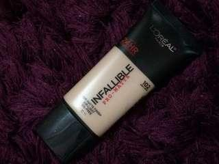 L'oreal Infallible Pro-Matte Foundation 24hrs