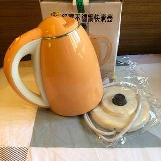 🚚 全新 鍋寶不鏽鋼快煮壺 1.8L