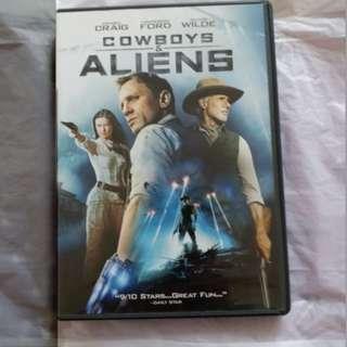 DVD 港版 天煞西部反擊戰 Cowboys and Aliens