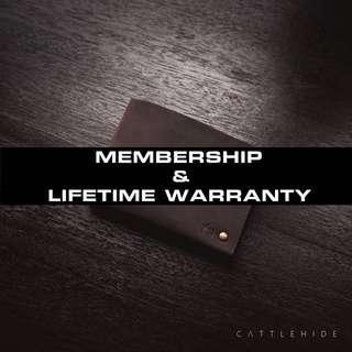 Membership & Warranty
