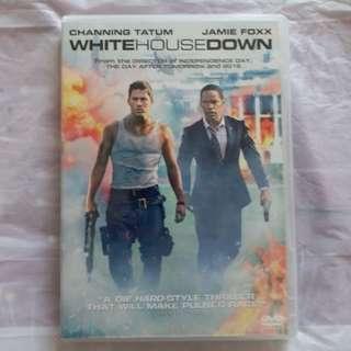 DVD 港版 白宮末日 White House Down