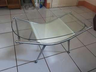 Oval Glass Center Table