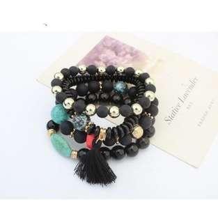 NEW Black Layer Bracelet