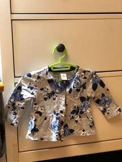 🚚 Carter's. 3-6個月女寶氣質衣