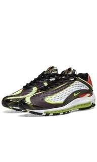 Nike Air Max Deluxe Black Volt  Res & White (All size available)