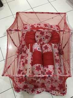 Baby Cradle Bed with Mosquito Net