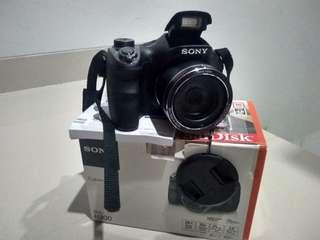 Sony DSC-H300 Digital Camera - 20MP - 35x optical zoom