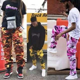 Assorted Camo Streetstyle Joggers