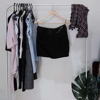 Zara Black Mini Skirt