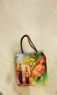 Quirky traditional tote