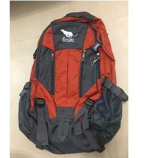 大容量旅行用背包 有防撞層