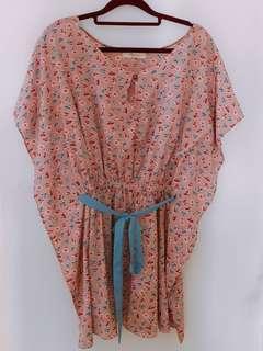 🚚 Korea flower dress