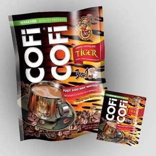 Coficofi tiger coffee