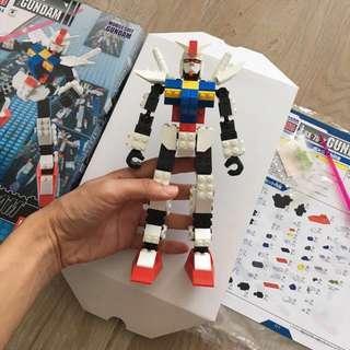 MIB Megablok bandai Gundam rx-78-2