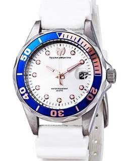 BRAND NEW Technomarine Silver Dial Ladies Watch, 37mm
