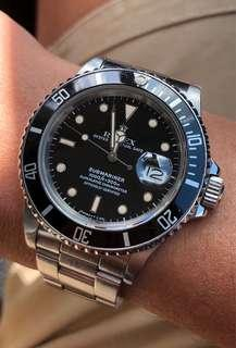 16800 Rolex Vintage Submariner Tritium