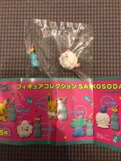 寵物小精靈pokemon center扭蛋 saikosoda系列