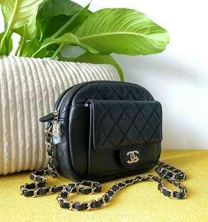 Authentic Chanel Camera Bag Medium Size