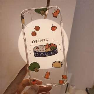 [PO] bento box transparent iphone case