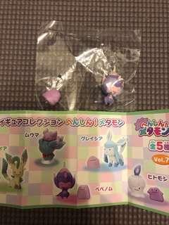 寵物小精靈pokemon center扭蛋 百變怪系列