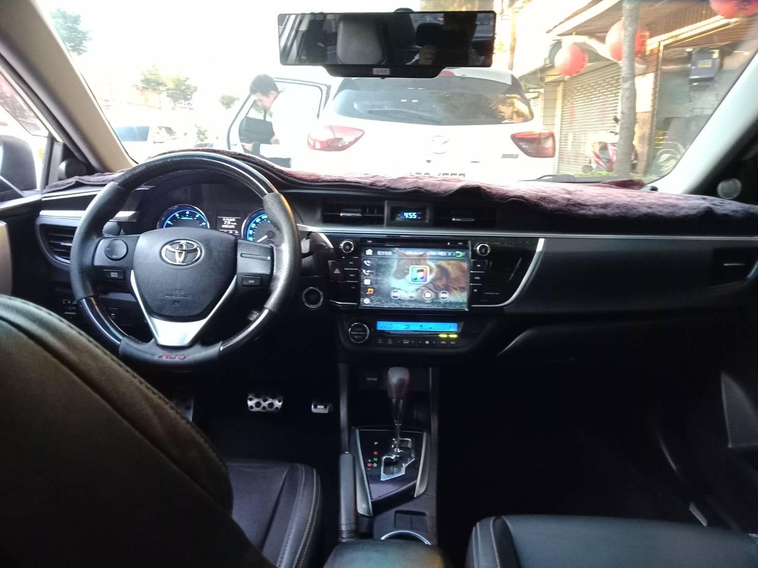 2014年 ALTIS Z版 1.8 白 跑7萬 熱門車中古車二手車