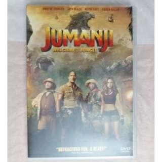 DVD 港版 逃出魔幻紀 : 叢林挑機 Jumanji:Welcome to the Jungle 2017