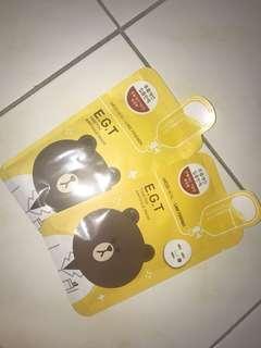 mediheal line friends egt timetox ampoule mask