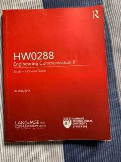 HW0288 Engineering Communication 2