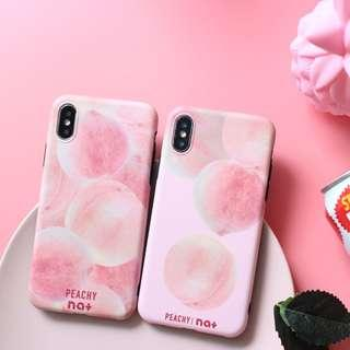 [PO] peach iphone case