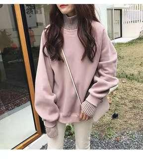 INSTOCK Pink knit Sweater