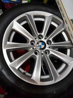 4 rims, 4 tyres