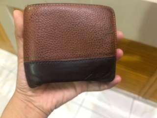 Coach brown / dark brown wallet