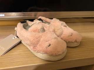 Zara Baby Unicorn Slip-on Shoes (Size 20)
