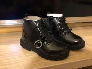 Zara Baby Black Boots Size 20