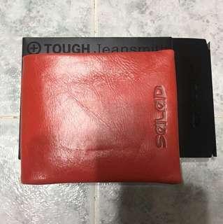 紅色短銀包 100%new