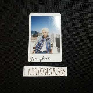 seventeen jeonghan al1 photocard